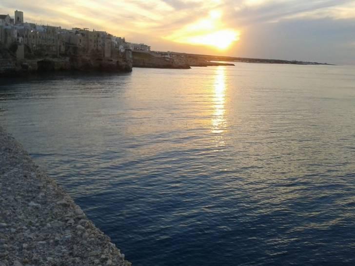Il cielo di Polignano a mare