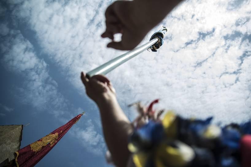 Bandiere al cielo