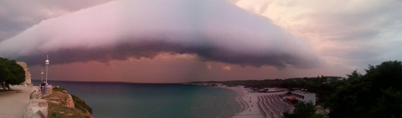 Roll Cloud a Torre dell'Orso (Lecce)