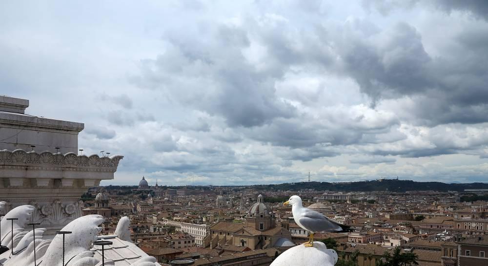 Roma dalla terrazze delle Quadrighe