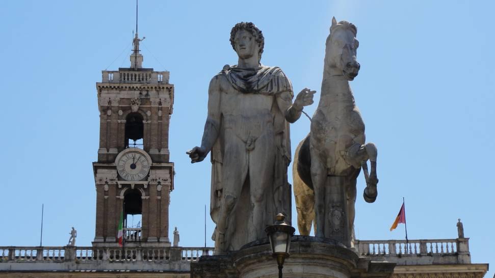 ROMA DIOSCURI CAMPIDOGLIO