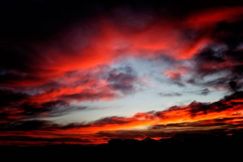 Rosso di sera...