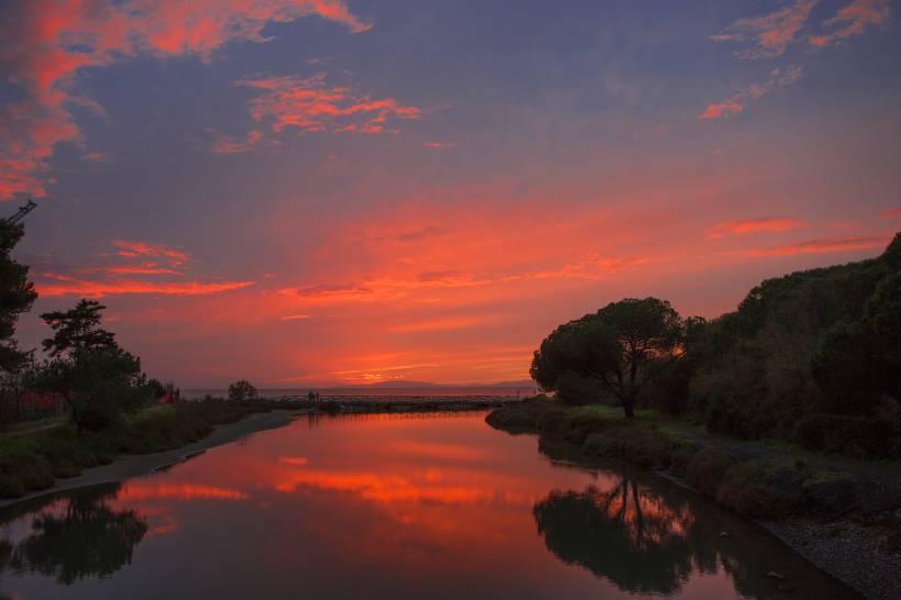 tramonto al Puntone