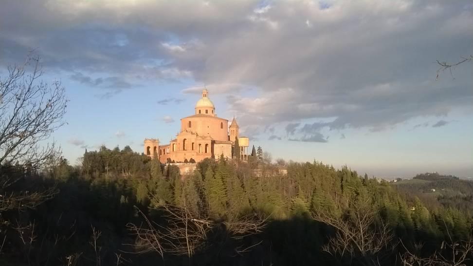 Tramonto al Santuario della Madonna di S.Luca - Bologna
