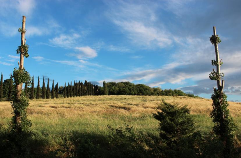 maggio, tardo pomeriggio, Santarcangelo di Romagna