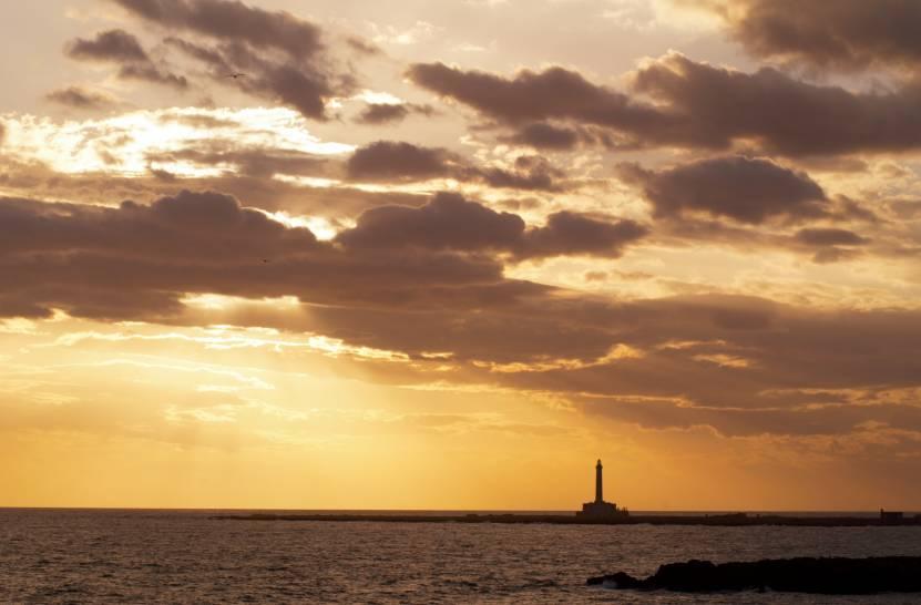tramonto a Gallipoli