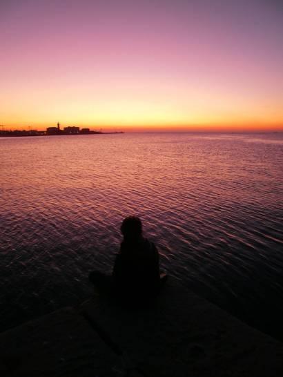 Trieste crepuscolare