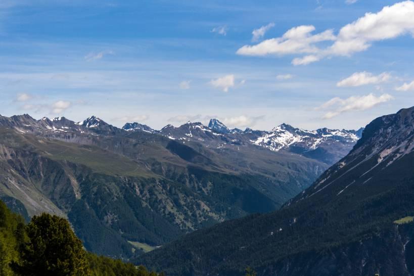 Il cielo sulla Val Venosta