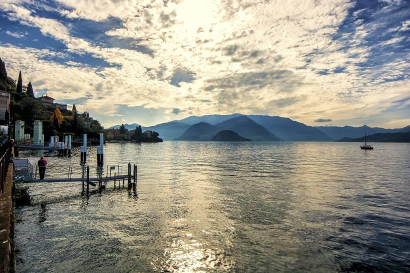 Il cielo sul lago
