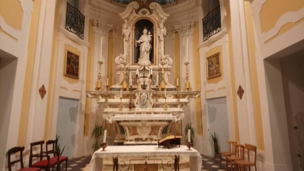 Altare chiesa del Carmine