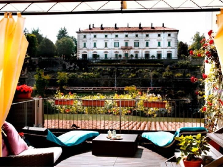 Terrazza Manzotti, Canonica d\'Adda, mangiare, Ristorante | Touring Club