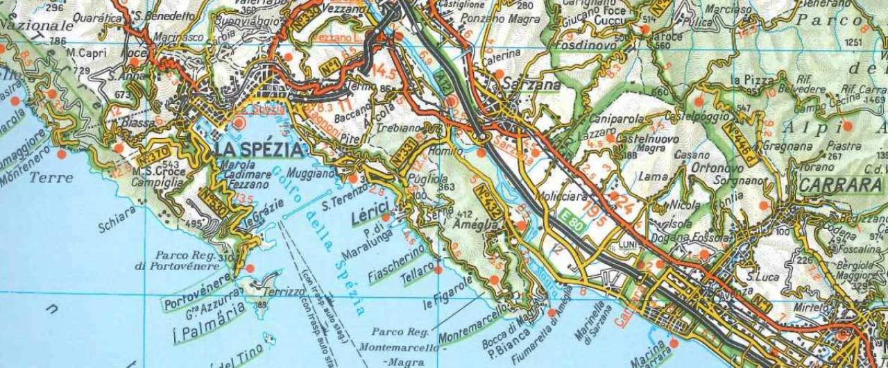 Cartina Mondo Touring.Aiutaci Ad Aggiornare Le Carte E Le Guide D Italia 4 Di 4 Touring Club