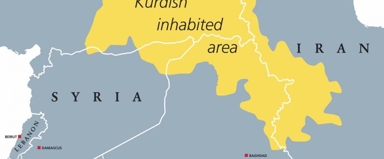 Cartina Kurdistan.Chi Sono I Curdi E Dove Vivono 4 Di 6 Touring Club