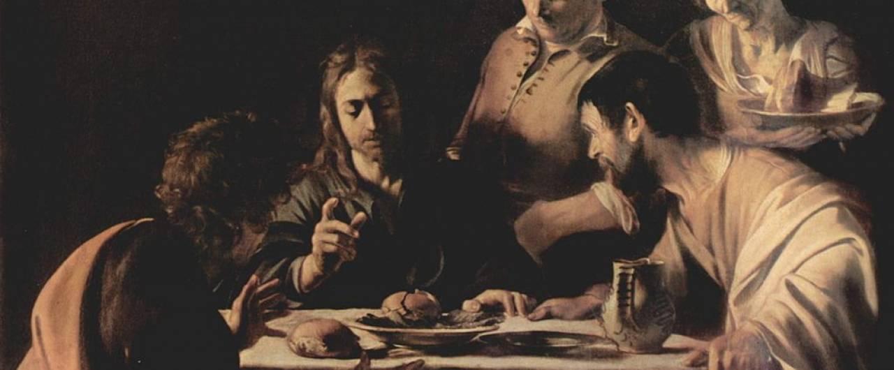 Le cene di Emmaus di Caravaggio e Rembrandt esposte insieme per la prima volta