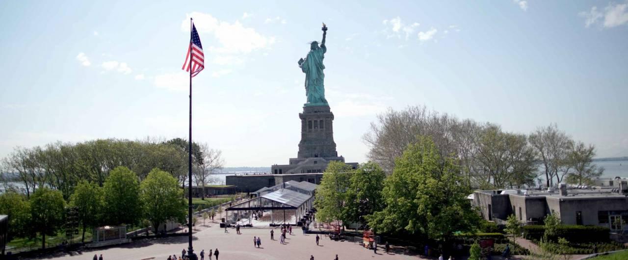 A New York inaugurato il nuovo museo della Statua della Libertà