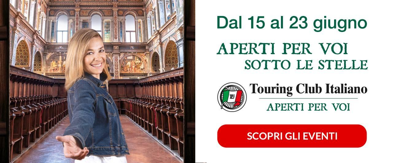 Aperti per Voi sotto le stelle: un programma di eventi straordinari per conoscere tesori d'arte in tutta Italia