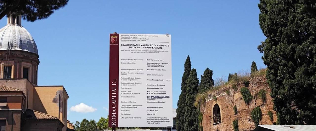 Roma, mausoleo di Augusto: aprirà mai quella tomba?
