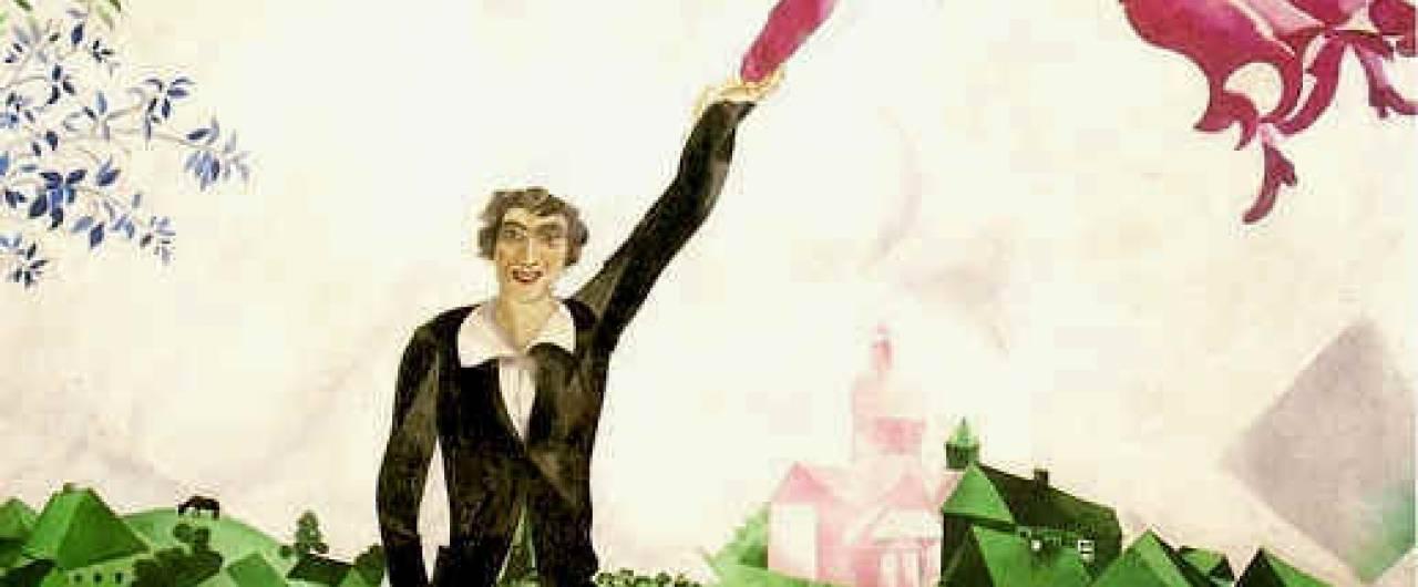 La vita e le opere di Marc Chagall in 10 punti (e una mostra)