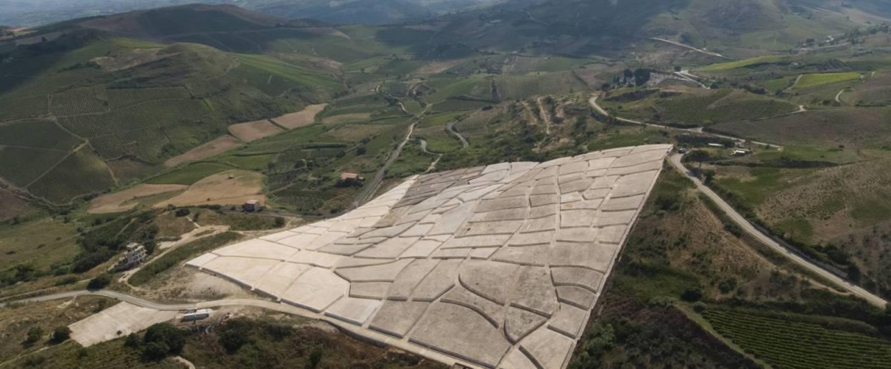In Sicilia, apre il Museo del Grande Cretto di Burri a Gibellina