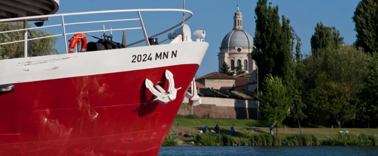 In bicicletta (e barca) da Venezia a Mantova