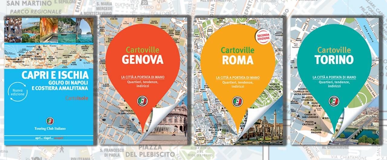 Le nuove Cartoville per scoprire l'Italia