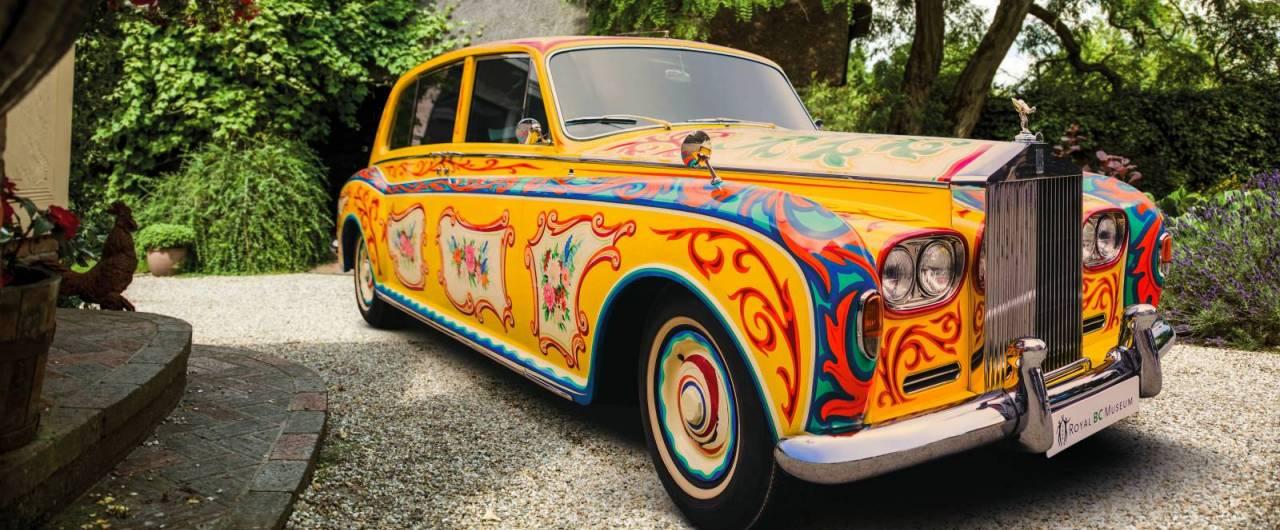 La mitica Rolls Royce di John Lennon torna a Londra