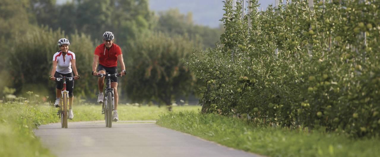 Da Merano ad Avio, lungo la pista ciclabile dell'Adige