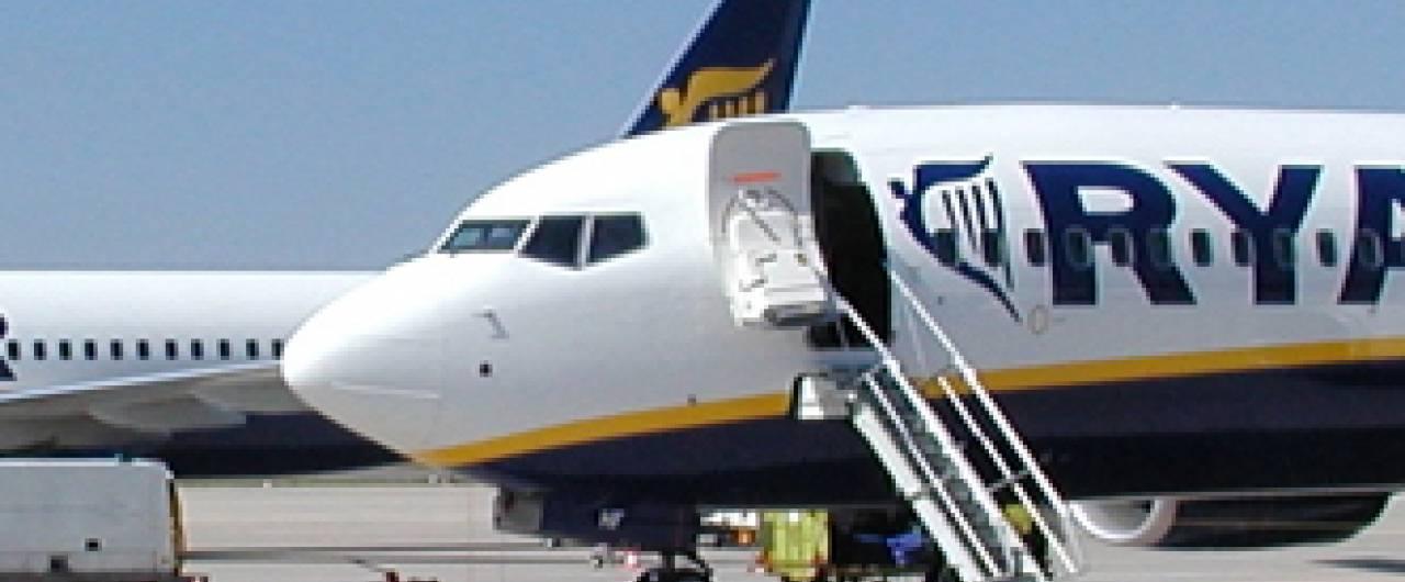 Ryanair, operazione Sicilia