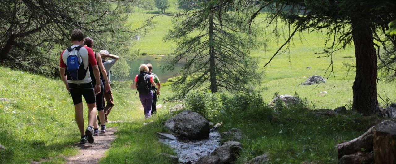 Camminare in val di Sole, quando la montagna è dolce e per tutti