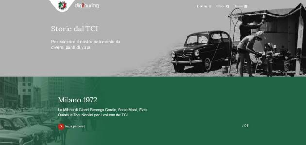 Digitouring, nasce il nuovo sito dell'archivio storico del Touring Club Italiano