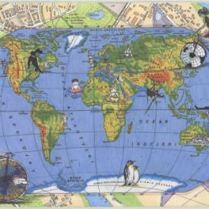 """""""Una mappa dei mio mondo futuro"""": ecco il concorso per stimolare la creatività geografica dei bambini"""
