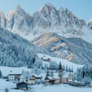 Dieci bellissime immagini per celebrare le Dolomiti d'inverno