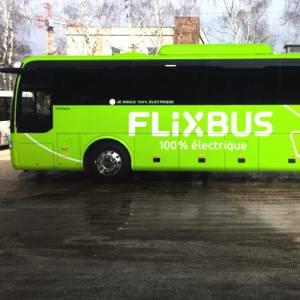 FlixBus: primo test al mondo per i pullman elettrici