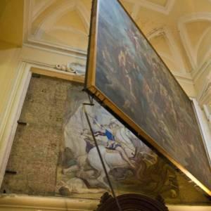 """La """"magia"""" di S. Giorgio Maggiore a Napoli. Un tesoro Aperto per Voi grazie ai Volontari Touring"""