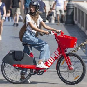 Un nuovo bike sharing a Roma, firmato Uber