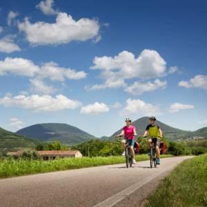 In bicicletta intorno ai Colli Euganei, in Veneto