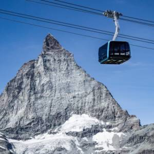 A Zermatt, in Svizzera, una nuova funivia arriva a 3821 metri di quota!