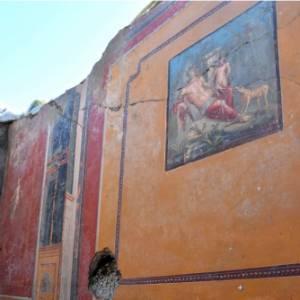 Amore e sensualità nell'ultimo ritrovamento a Pompei