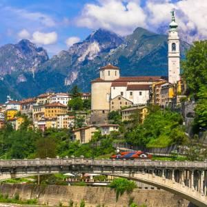 In camper sulle Dolomiti Agordine, in Veneto