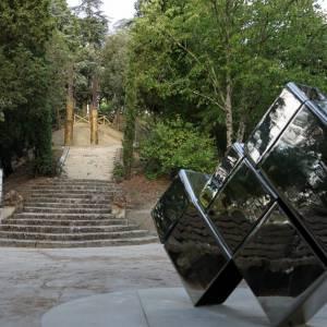 A Todi inaugurato un parco con le sculture di Beverly Pepper
