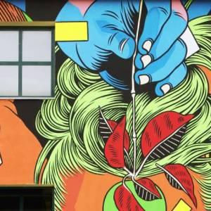 Un tour di street art per rilanciare i borghi alpini del Piemonte