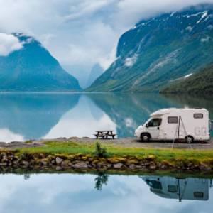 In camper tra i fiordi della Norvegia del sud