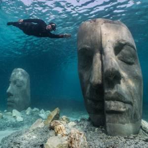Lo straordinario ecomuseo sottomarino di Cannes, in Costa Azzurra
