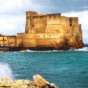 Napoli, straordinaria scoperta subacquea sotto Castel dell'Ovo