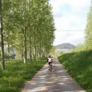 Toscana in bicicletta, lungo il Serchio da Lucca al mare