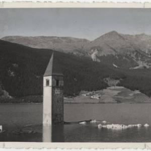 La storia del campanile sommerso della Val Venosta, in Alto Adige