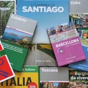 Libri, guide, carte e volumi illustrati Touring: buono sconto di 5 euro