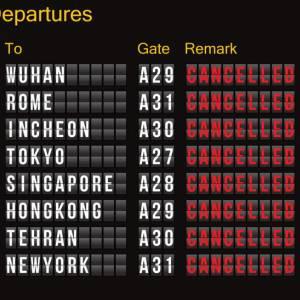 Rimborsi dei voli aerei cancellati causa coronavirus: qual è la situazione