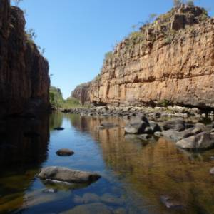 In camper a Katherine Gorge (Nitmiluk National Park), in Australia