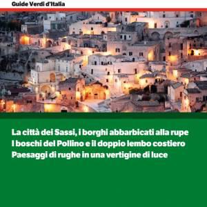 Matera e la Basilicata, la nuova Guida Verde Tci guarda all'Europa